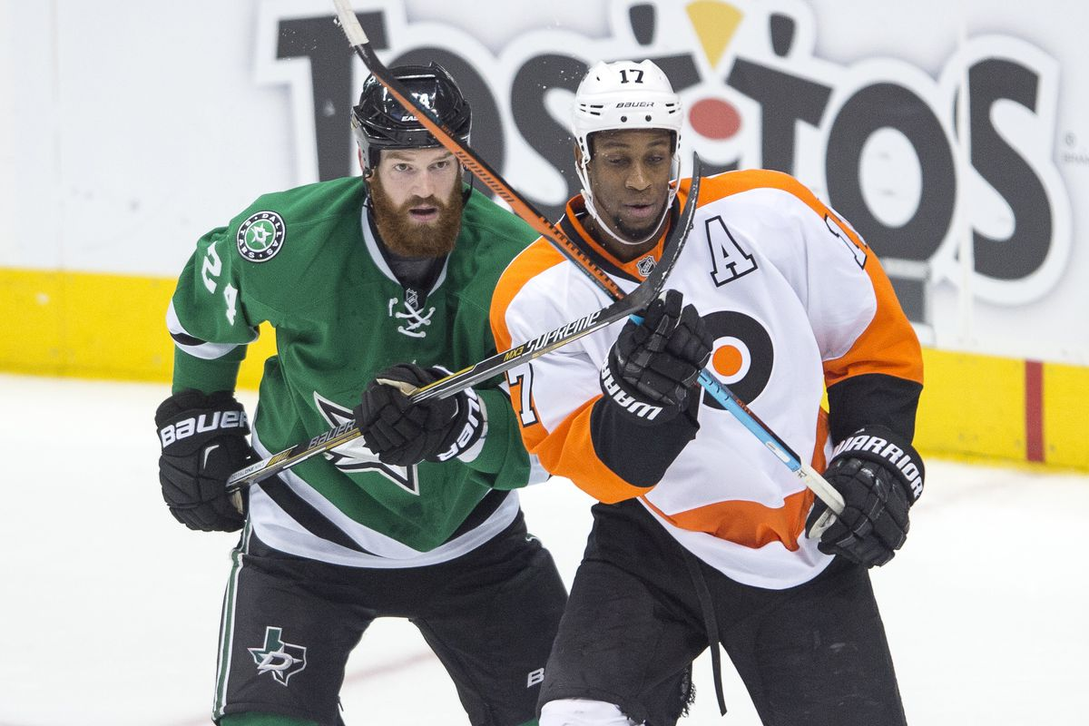 Jordie Benn was not on the ice for three goals against.  Wayne Simmonds, on the other hand...he kinda was.
