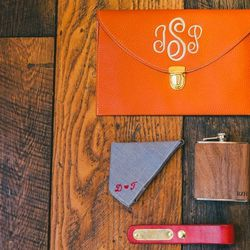Monogramming and personalization is huge on Etsy.