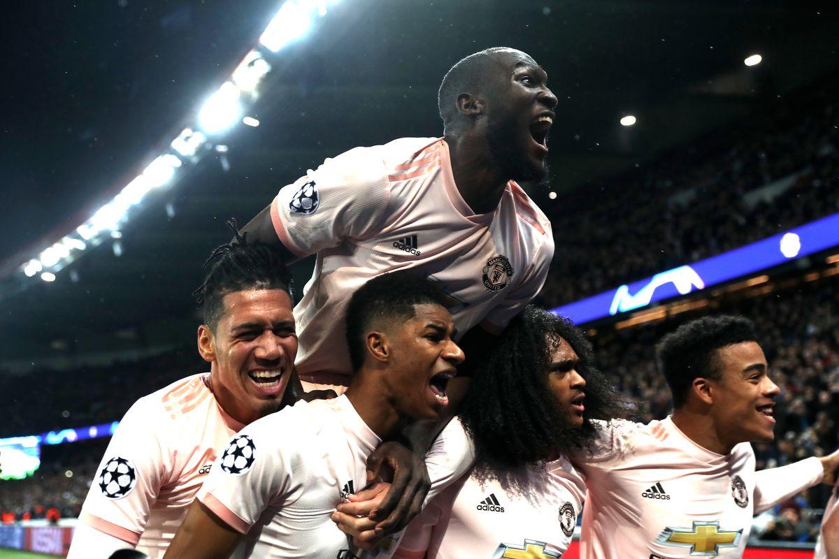 Marcus Rashford - Manchester United - UEFA Champions League