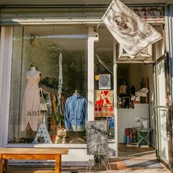 """<b>↑</b> Store owner Lexi Oliveri opened <a href=""""http://www.antoinettebrooklyn.com/"""">Antoinette Vintage</a> (119 Grand Street) in 2011, with clothes straight from her mother's personal collection. The shop has since blossomed beyond that, with a hearty s"""