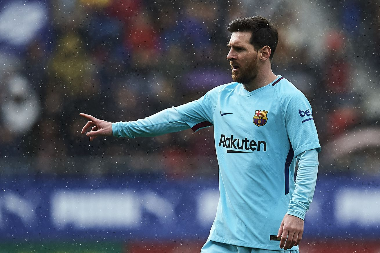 Messi equals another record as he hits the woodwork yet again