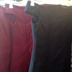 quilted dresses, $100