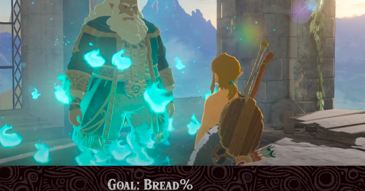 Breath of the Wild players are doing bread baking speedruns – Polygon