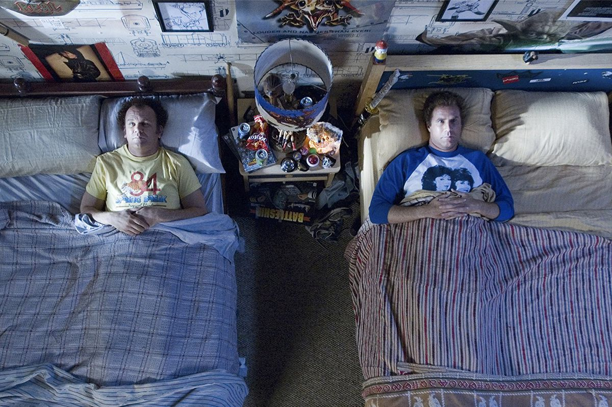 Reilly and Ferrell in adjacent beds