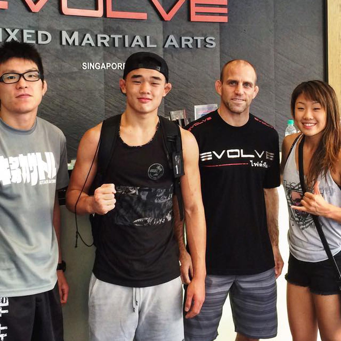 067bc2c15 Two teenage Singaporean prospects sign with Evolve MMA fight team ...