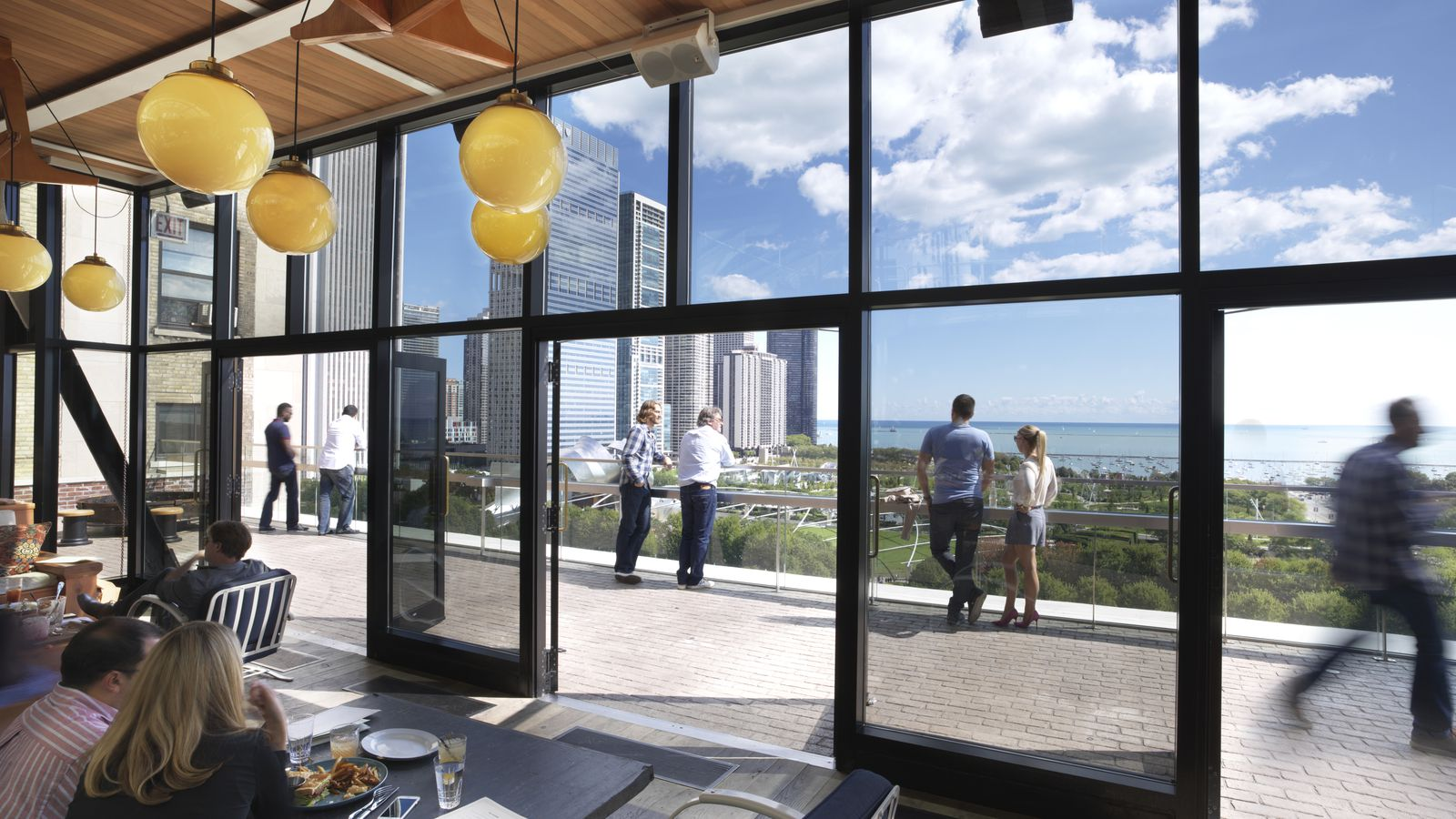 Cindy S Rooftop Adding Outdoor Terrace Bar With Boozy