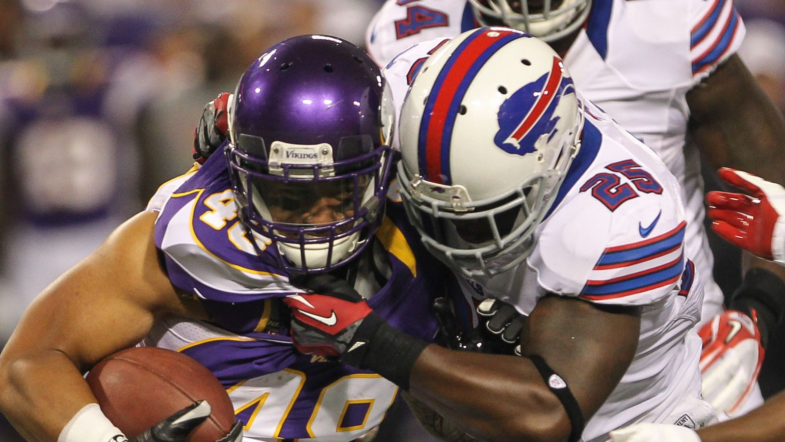 The Buffalo Bills are not at full strength in the backfield ahead of Week 3s game against the Minnesota Vikings LeSean McCoy was limited in practice dealing with
