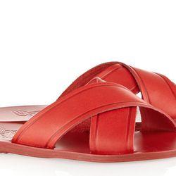 "<b>Ancient Greek Sandals</b> Thais sandals, <a href=""http://www.net-a-porter.com/product/443983/Ancient_Greek_Sandals/thais-leather-sandals"">$235</a>"