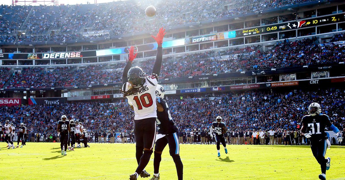Houston Texans Game Day Live: Texans vs. Titans (First Quarter) - Battle Red Blo...