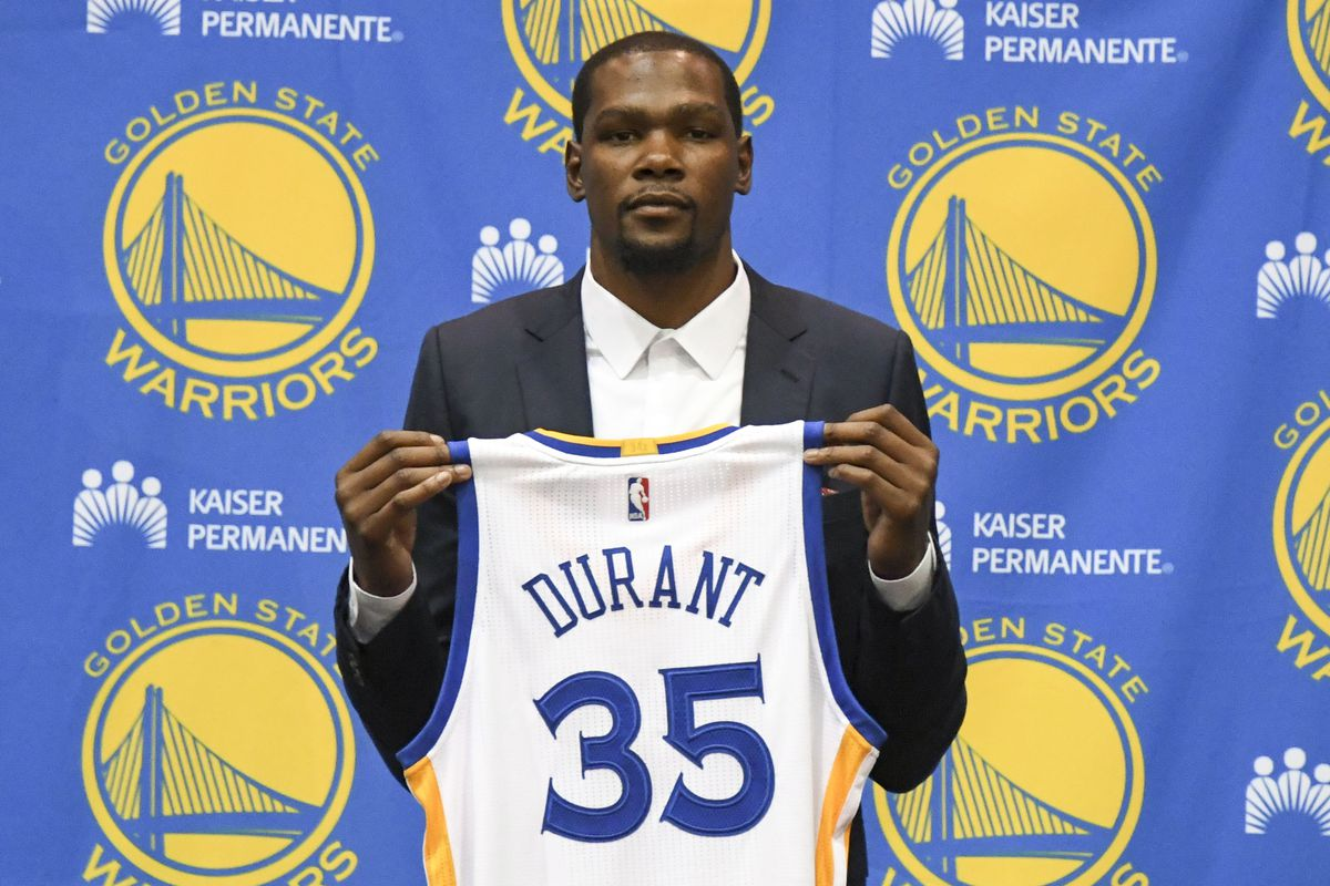 99ac4981143 Kevin Durant Betrayed Nobody by Joining the Warriors - Blazer s Edge