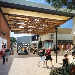 """The proposed changes to the Stanford Shopping Center. All images via <a href=""""https://www.facebook.com/stanfordshoppingcenter/posts/10152561764914462"""">Facebook</a>."""