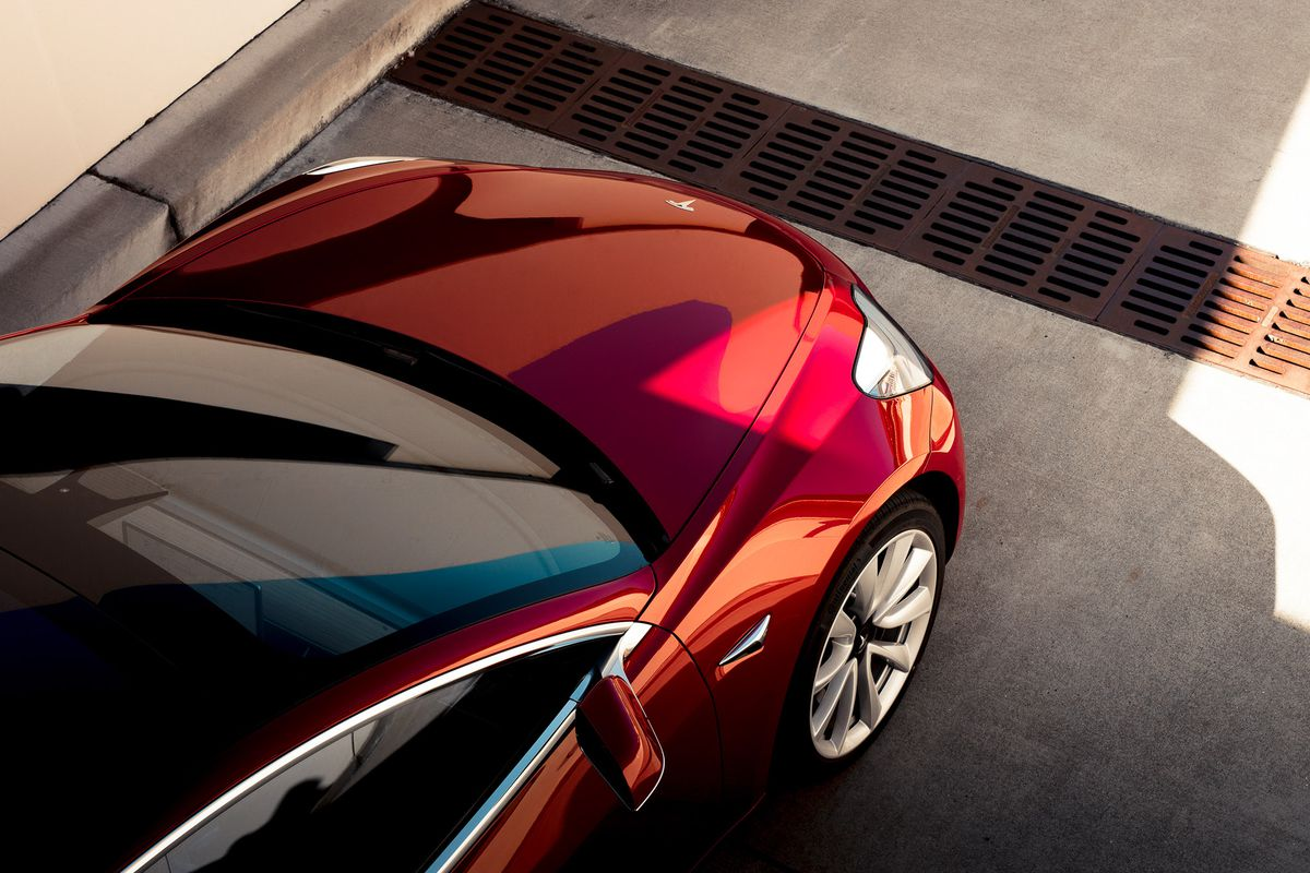 Tesla model 3 first drive this is the car that elon musk for Tesla model x cabin air filter