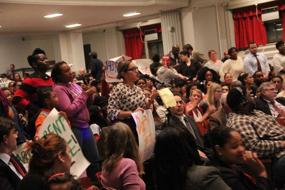 A Success Academy parent spoke at the January Panel for Education Policy meeting.