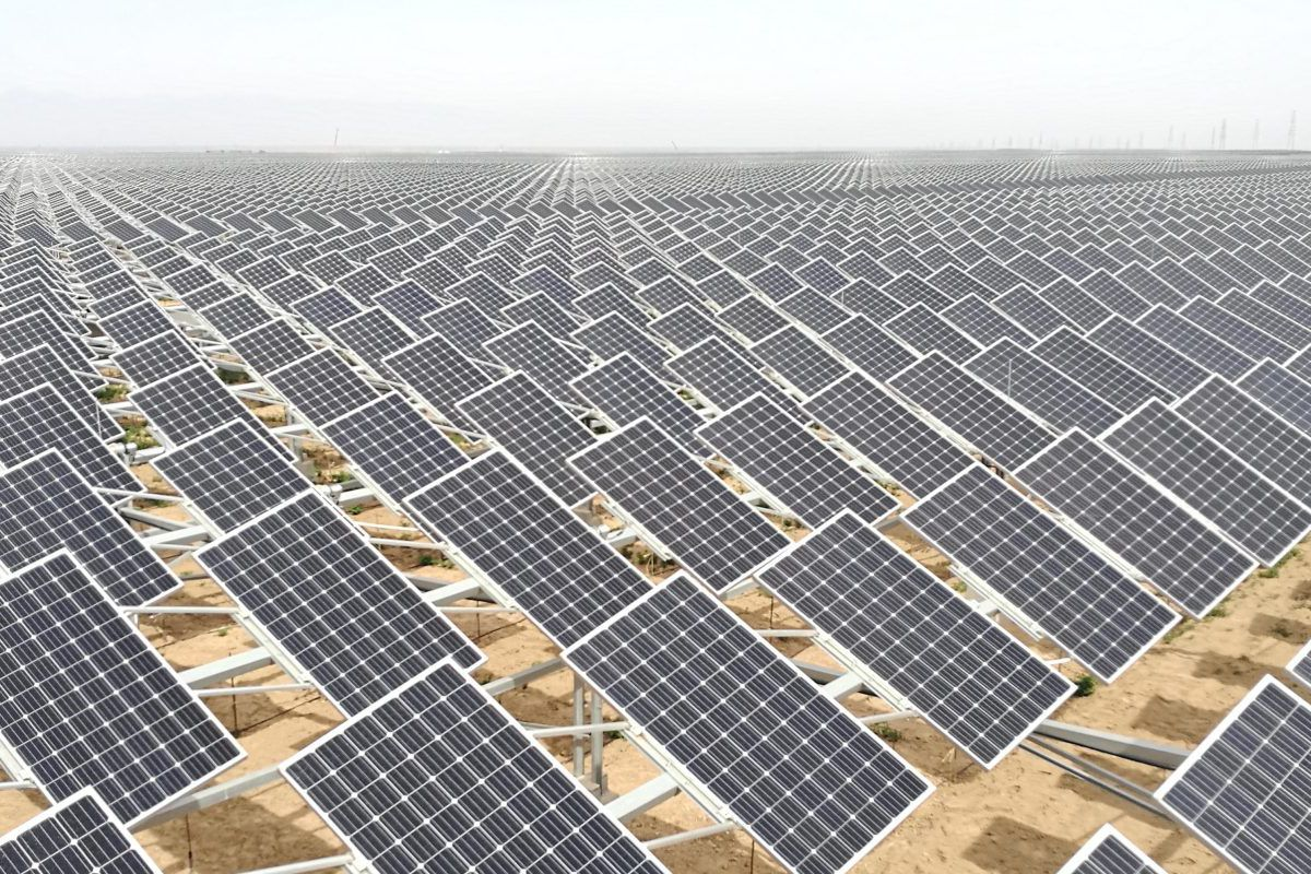 Saudi Arabia Plans The Worlds Largest Solar Power Plant Curbed Electrical Layout A 700mw Pv In Ningxia China David Sanchez Via Electrek