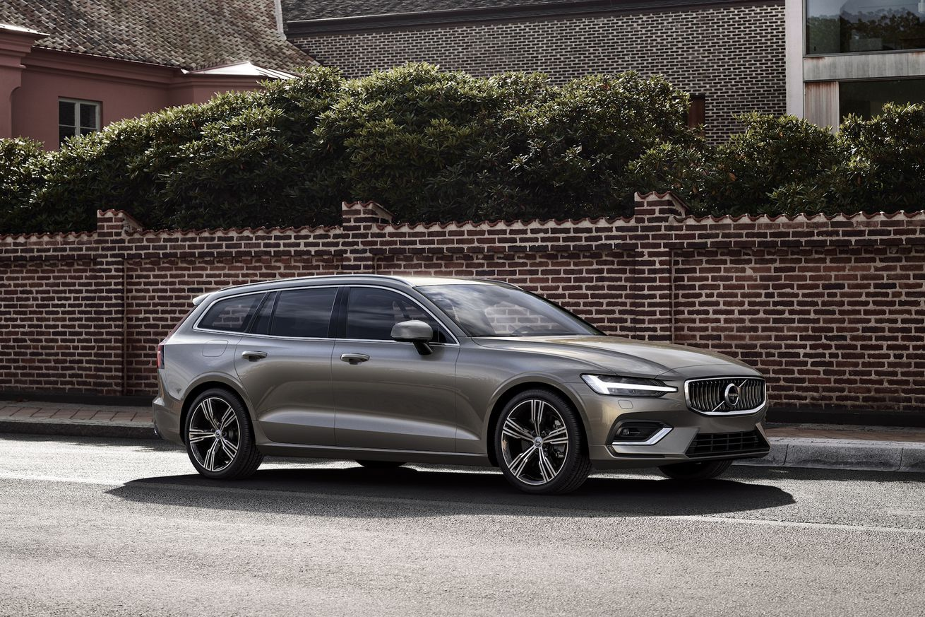 the new volvo v60 is a sleek wagon with more semi autonomy