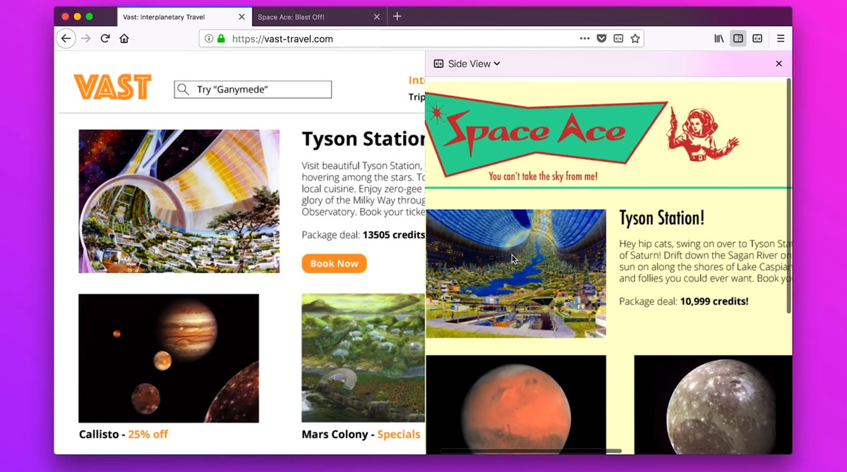 Firefox is testing features that let you customize colors and view