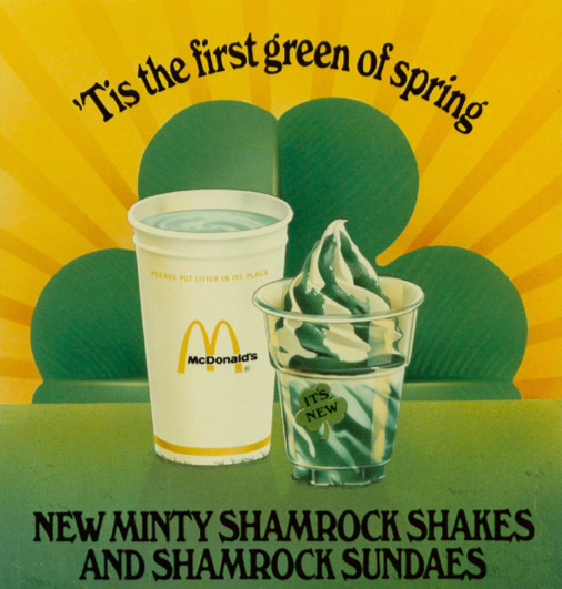St  Patrick's Day: Shamrock Shakes, and their cult following