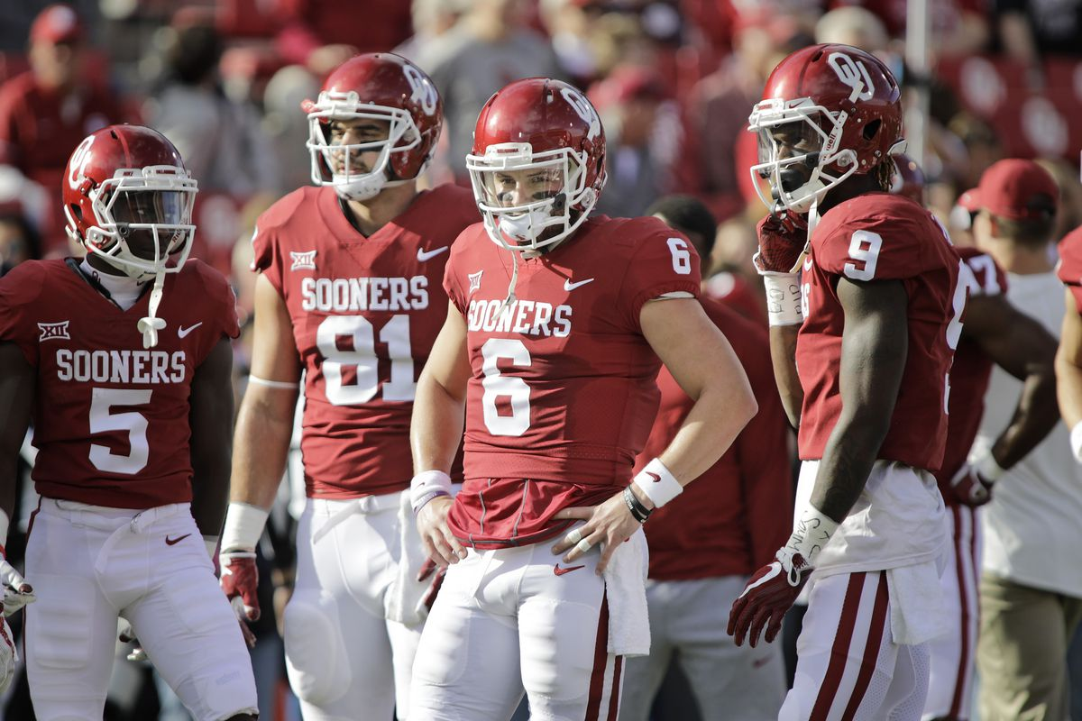 Oklahoma Football Baker Mayfield S Efficiency Trae Young S Rise In