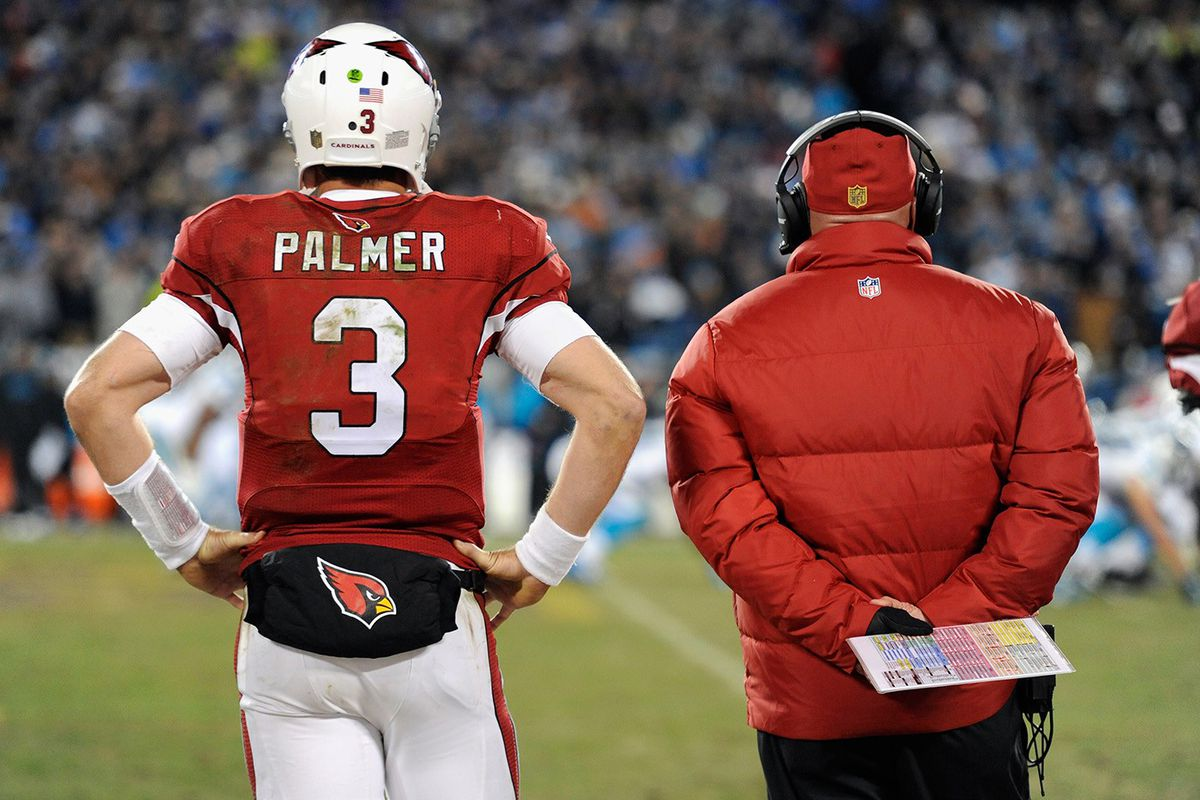Carson Palmer and Bruce Arians (GettyImages)