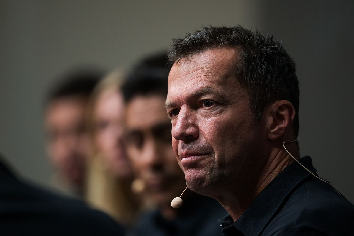 The Best FIFA Football Awards - Preview Media Event MOSCOW, RUSSIA - JULY 04: Lothar Matthaus looks on during the The Best FIFA Football Awards Preview Media Event at Radisson Royal on July 4, 2018 in Moscow, Russia