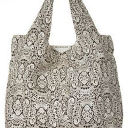 Givenchy, George V Lace Apron Bag, $2,480