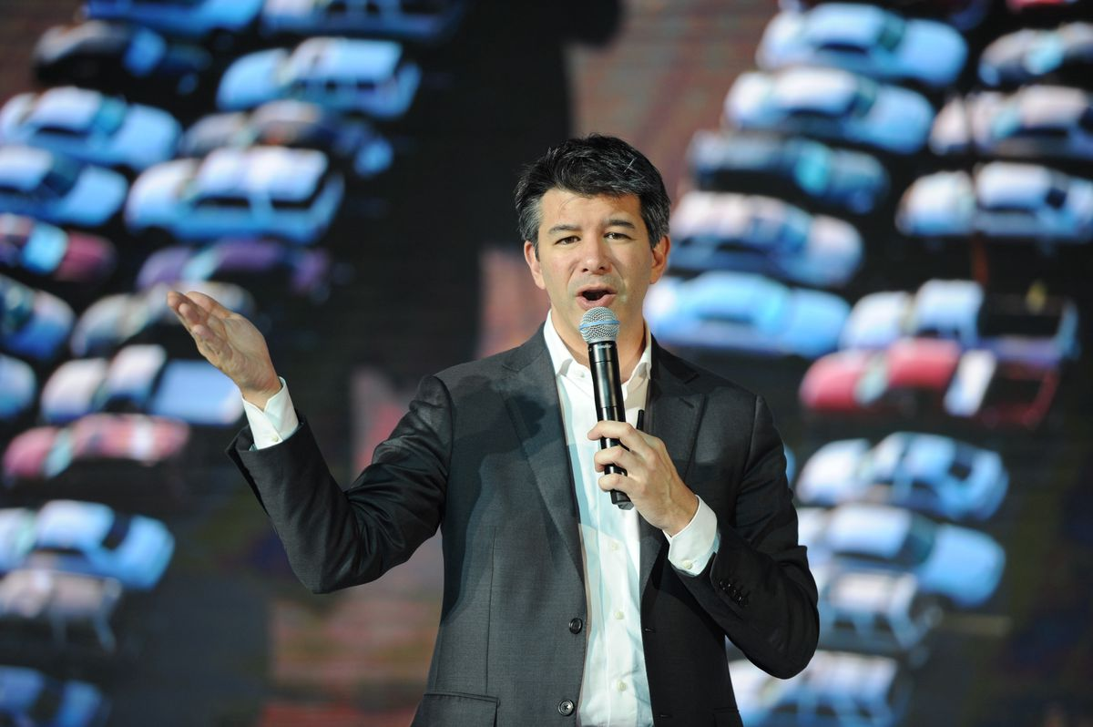 Uber CEO Travis Kalanick (GettyImages)