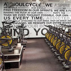 """↑ Put the petal to the metal and start your day at <a href=""""https://www.soul-cycle.com/find-a-class/studio/16/"""" target=""""_blank"""">SoulCycle</a> (11640 San Vicente Blvd), where stars like <a href=""""http://la.racked.com/archives/2014/11/21/where_jessica_alba_p"""