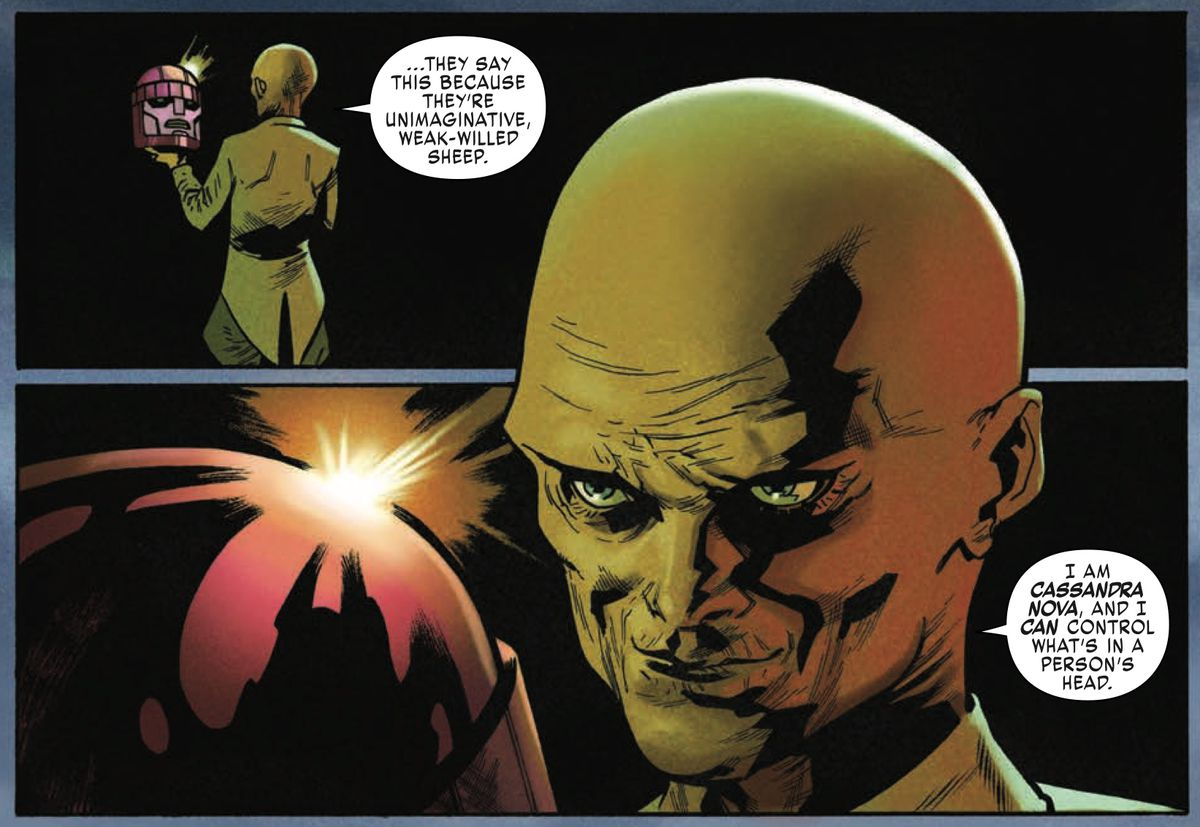 X战警:红色#1带回了一个强大的恶棍和一个可怕的双关语
