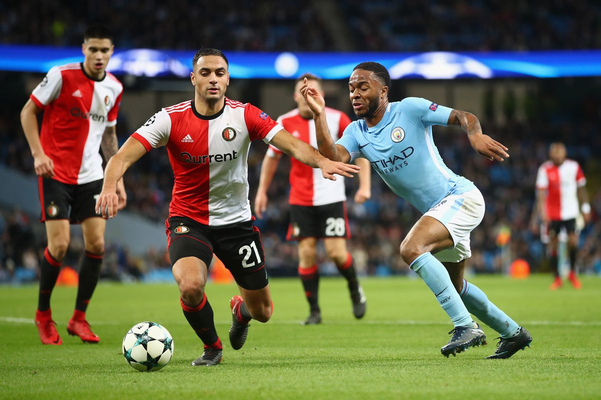 Feyenoord  Champions League Final Score   City Stay Perfect With Late Sterling Winner Bitter And Blue