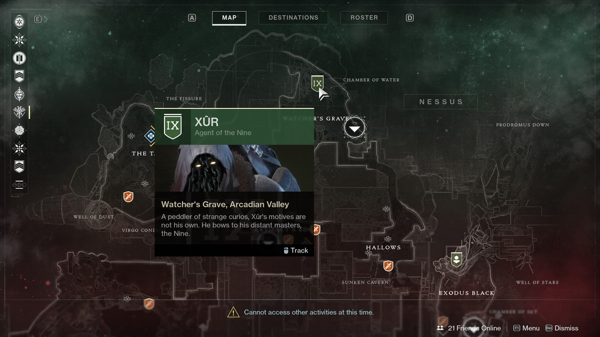 Destiny 2 Xur location and items, Aug  3-6 - Polygon