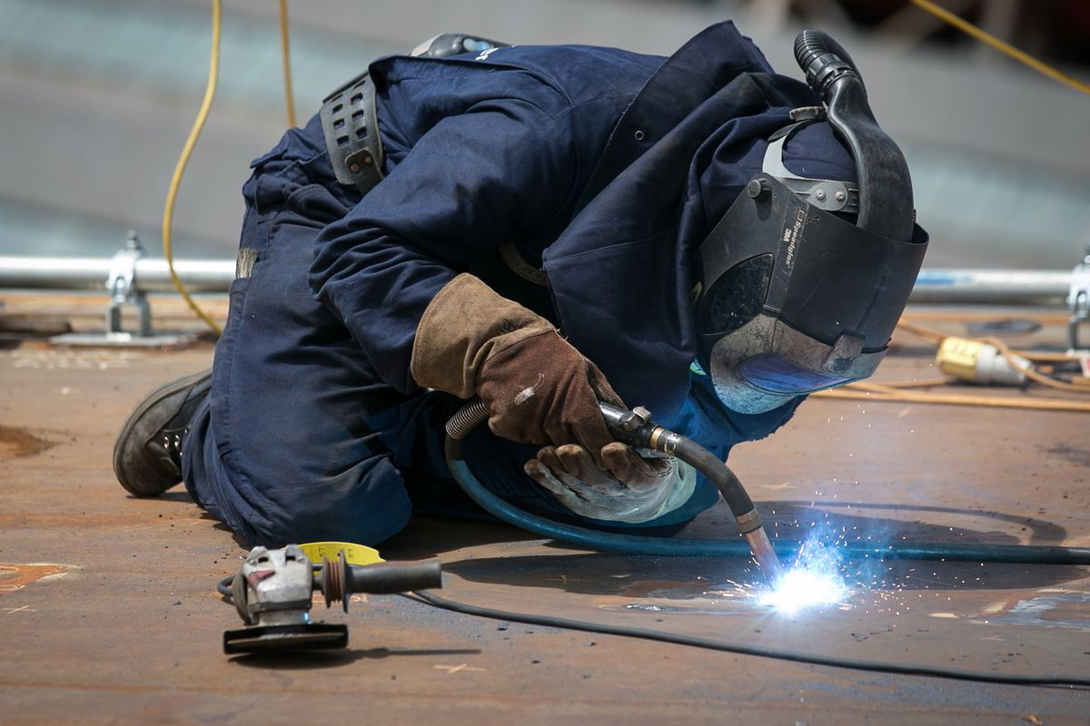 Many community colleges offer courses in welding.