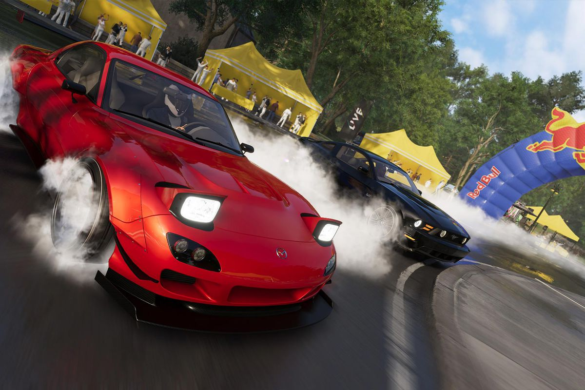 the crew 2 is a ton of fun once you pretend it s irl mario. Black Bedroom Furniture Sets. Home Design Ideas