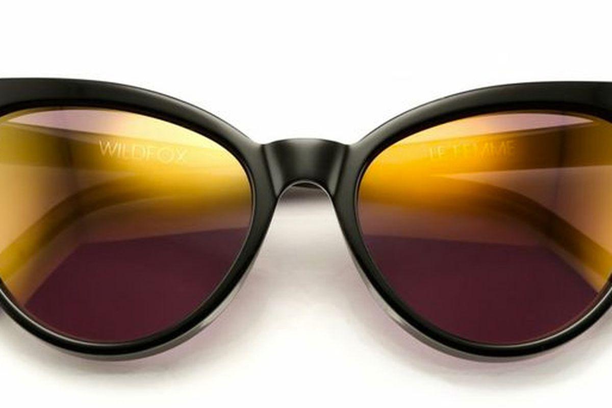 "Wildfox La Femme Deluxe sunglasses, <a href=""http://www.wildfoxcouture.com/wildfox-sunglasses-le-femme-deluxe"">$179</a>."