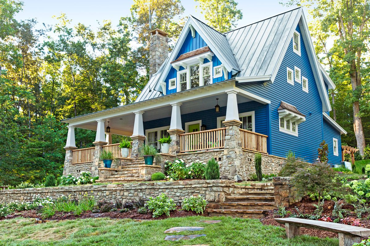 Metal Roof Styles Colors Paint Accents This Old House