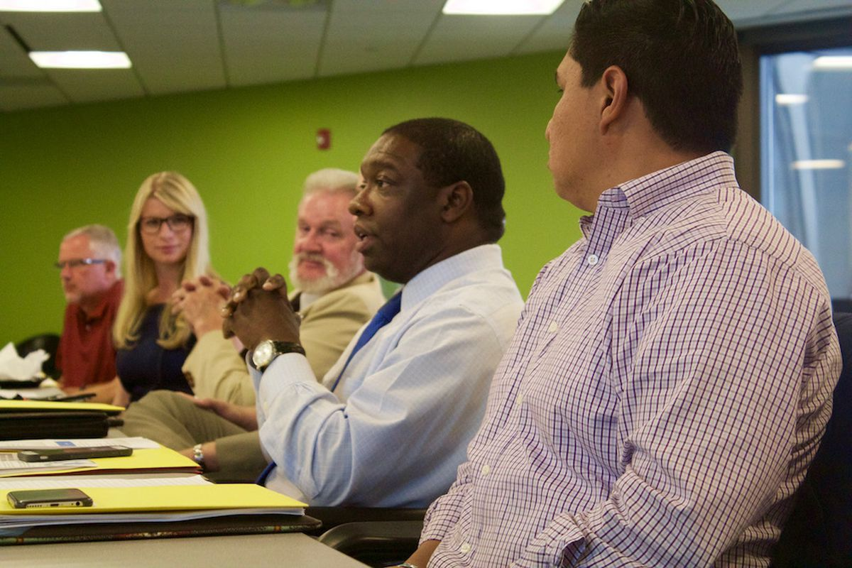 Members of the state education's ESSA committee met for the first time Aug. 8.