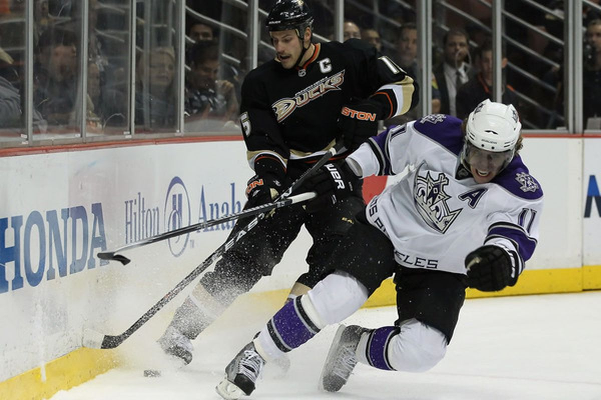 Kopi your ankle noooooooooooooooooooooooooooooooo  (Photo by Jeff Gross/Getty Images)