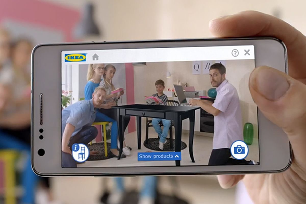 IKEA App Projects Virtual Furniture Into Your Living Room