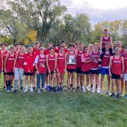 Bountiful's boys cross country team won the Region 5 championship this year.