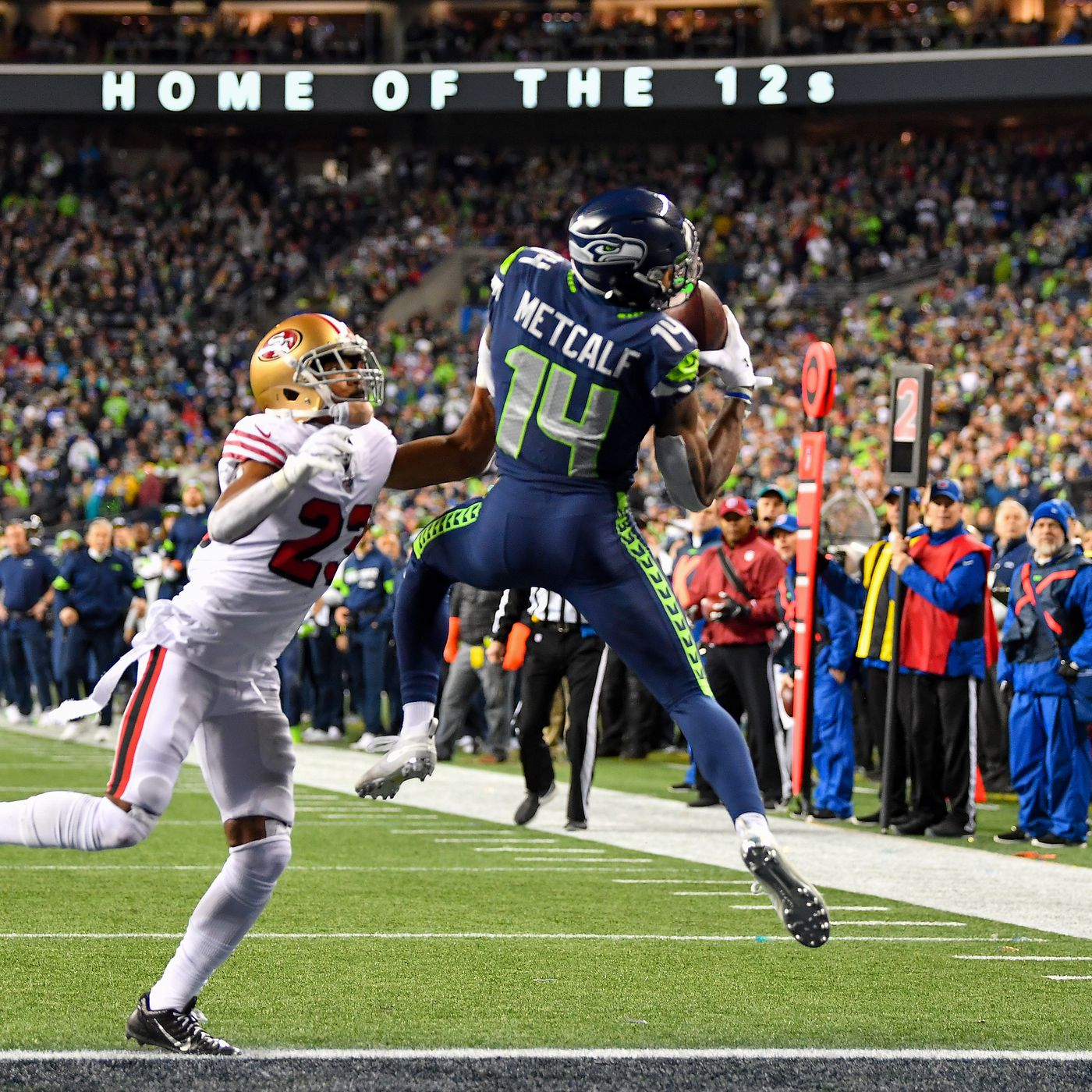 Here S What To Expect From Seattle Seahawks Wr Dk Metcalf In The 2020 Nfl Season Field Gulls