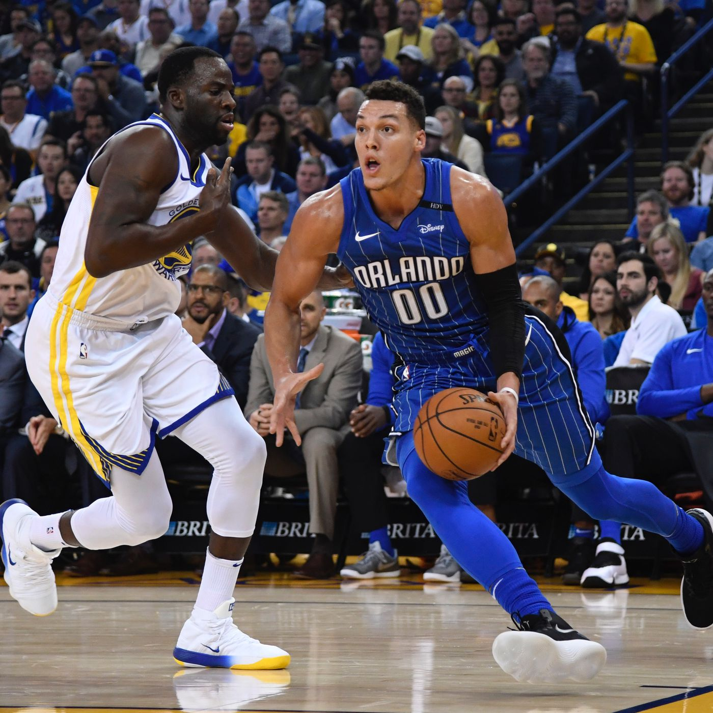 3e37869aa36d Key Matchup  Aaron Gordon is the problem that needs Draymond Green s  attention