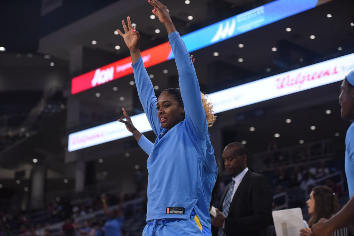 Cheyenne Parker was drafted by the Sky in 2015. | Photo courtesy of Chicago Sky