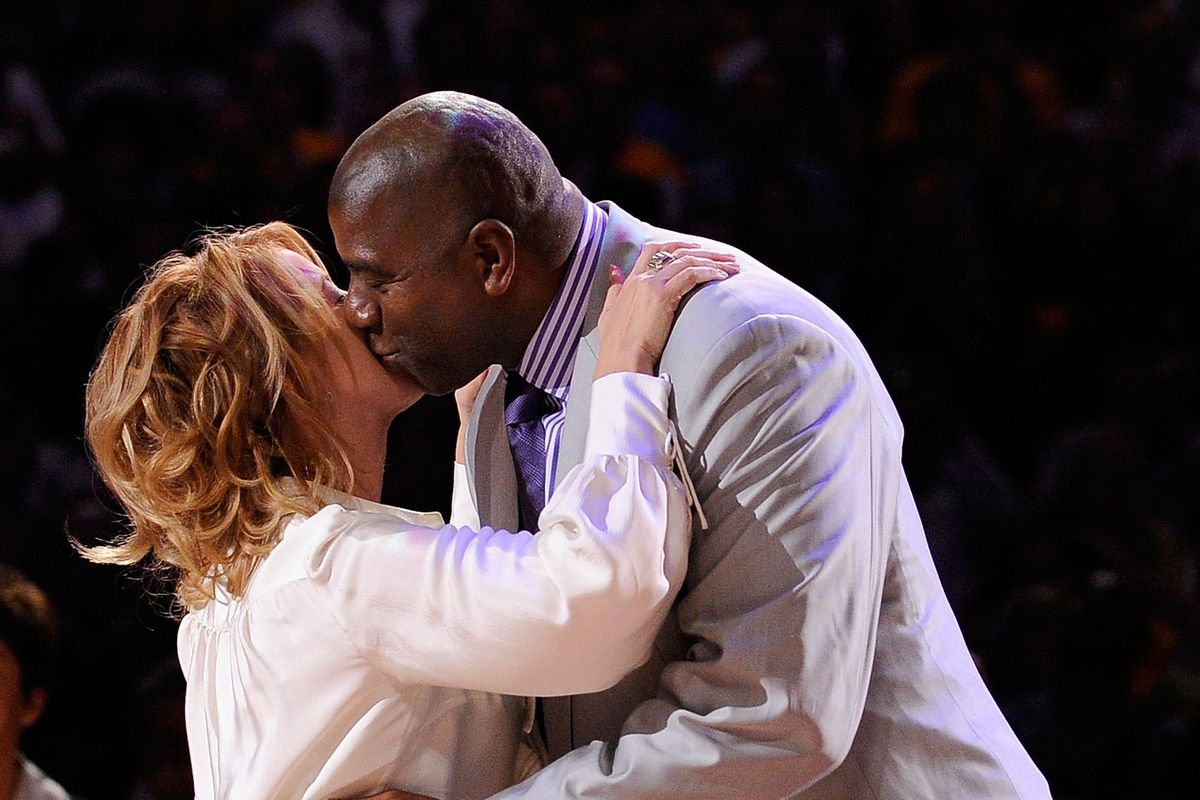 jeanie buss and magic johnson s lakers coup is heart warming