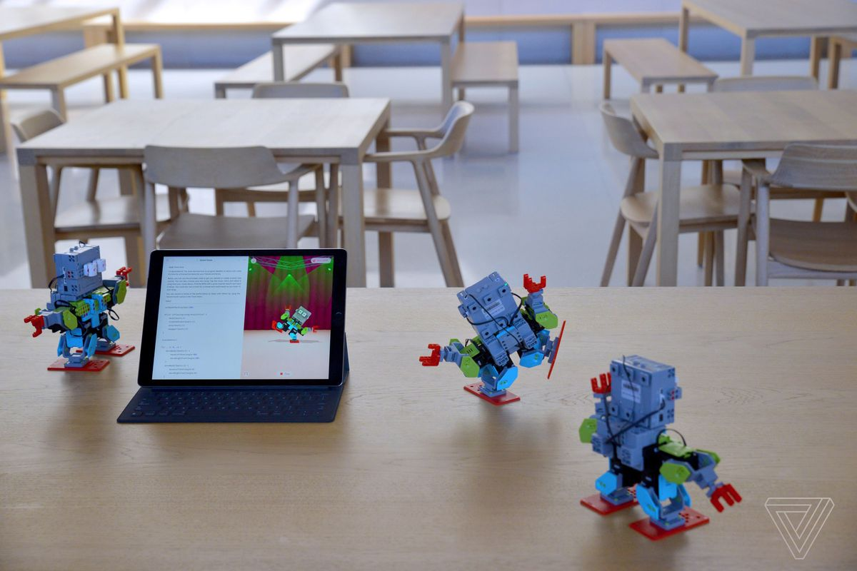 Apple S Swift Playgrounds Coding App Now Supports Robots Drones