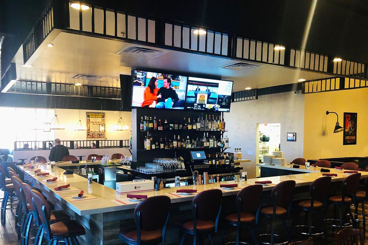 The new bar and upgraded dining space at Spaghetty Western.