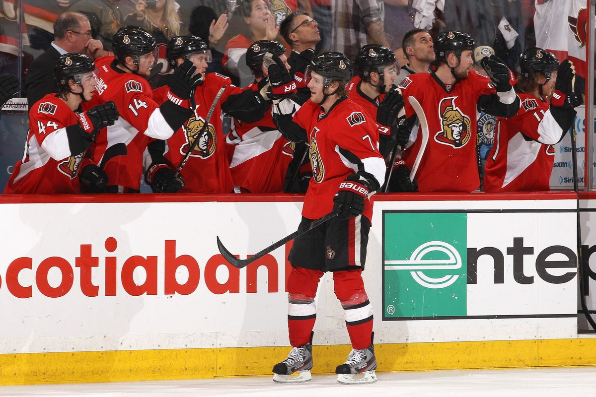 Kyle Turris was one of the few bright spots in this game.