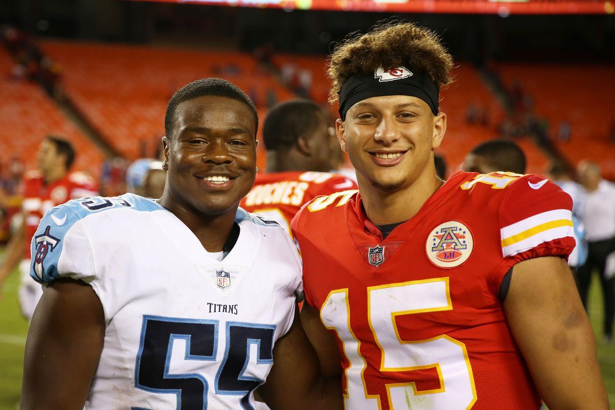NFL: AUG 31 Preseason - Titans at Chiefs