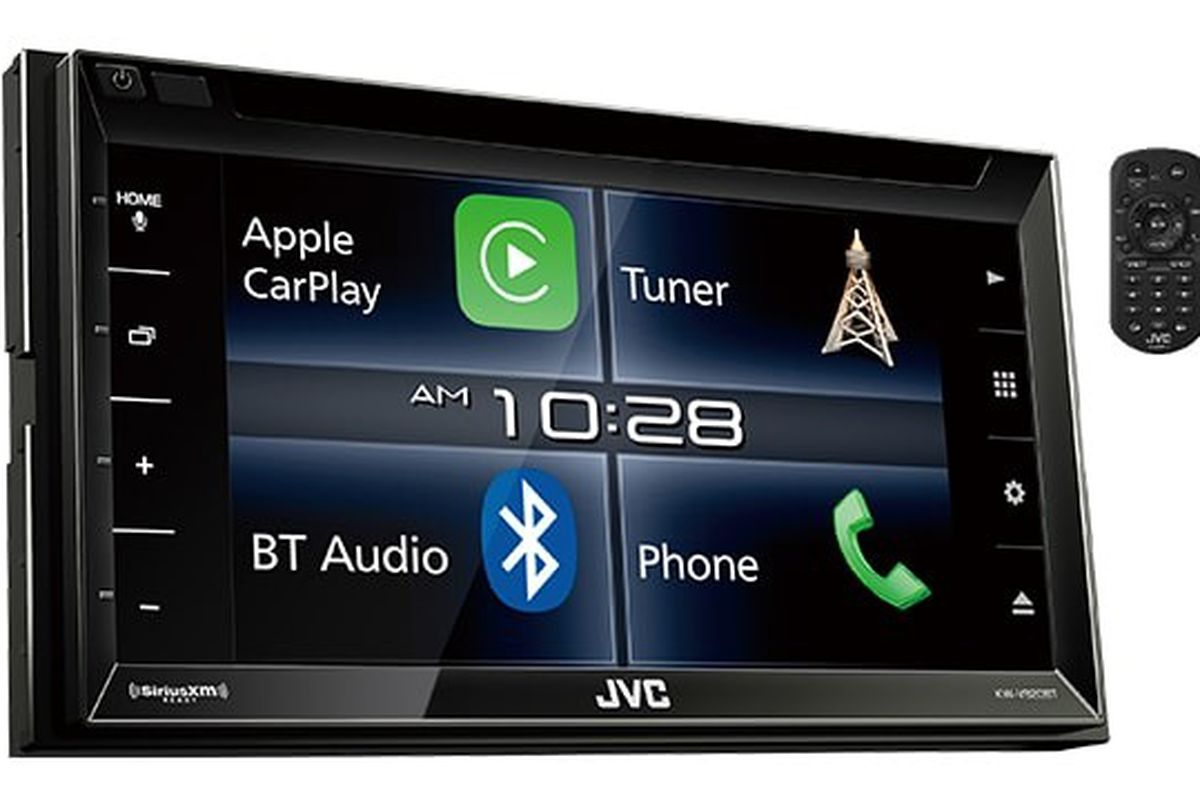 jvc 39 s first apple carplay receiver is now available the. Black Bedroom Furniture Sets. Home Design Ideas