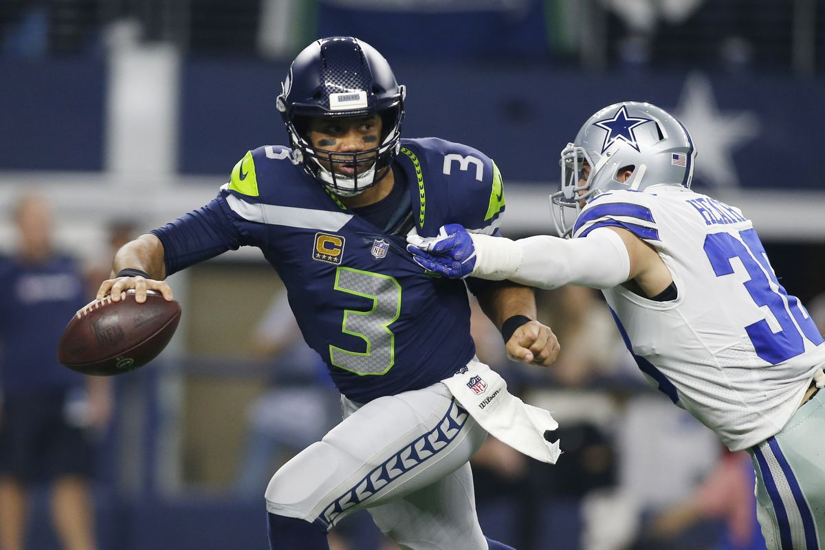 100% authentic 21452 5bc4e How Russell Wilson made his sixth NFC Pro Bowl squad - Field ...
