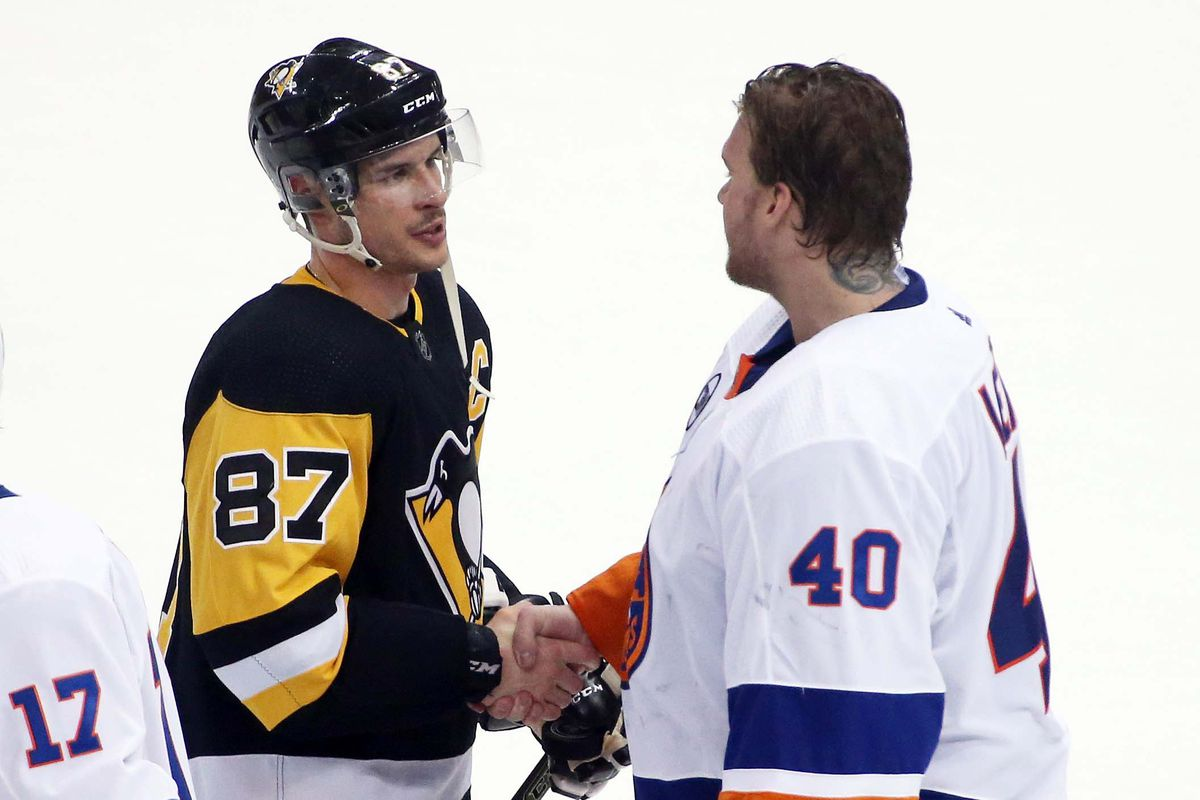 """145a30cdc NHL: Stanley Cup Playoffs-New York Islanders at Pittsburgh Penguins """""""