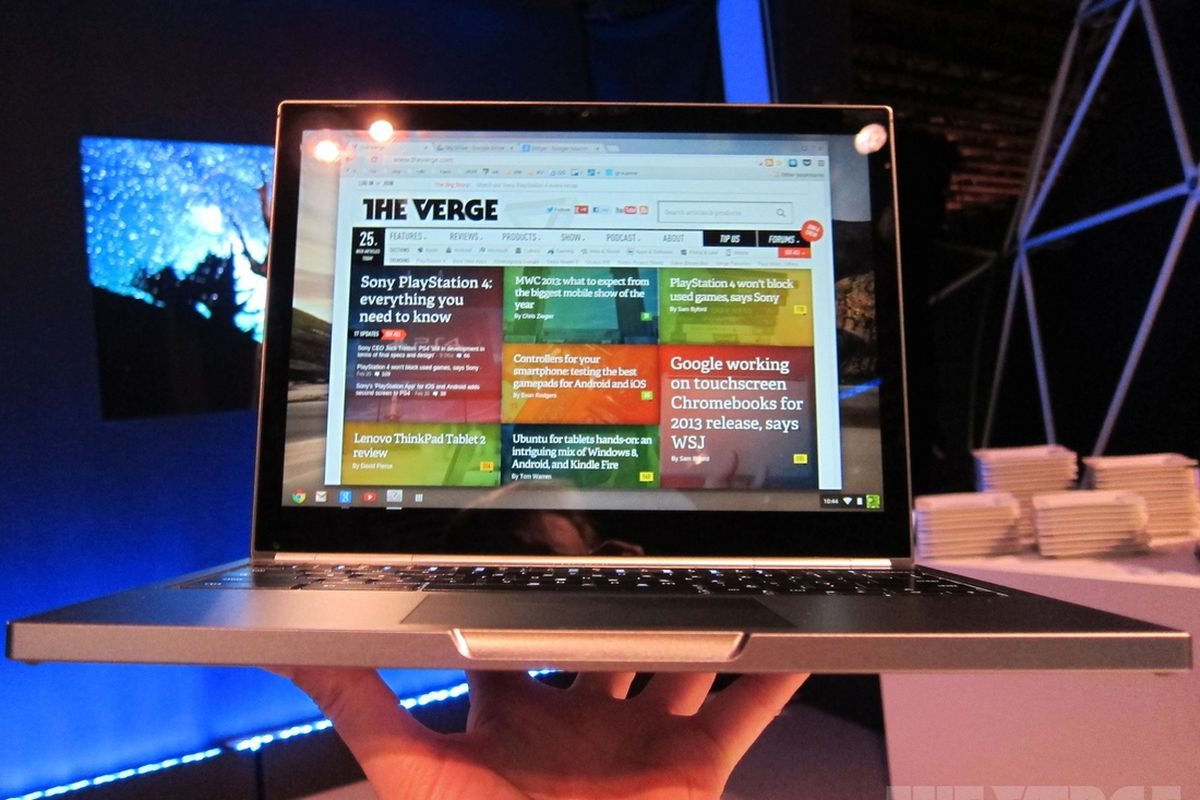 2f1dcf10798 Chromebook Pixel hands-on video and impressions - The Verge